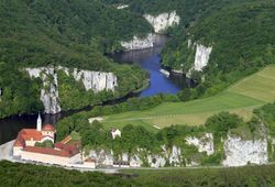 Weltenburg Monastery, Danube Gorge and Weltenburger Enge_ © Rainer Schneck