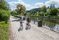 Cycling on the Main-Danube Canal in Berching
