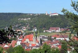 View of Beilngries and the castle Hirschberg_© Stadt Beilngries